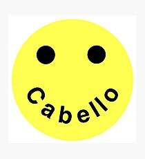 Cabello Smiley Face Photographic Print