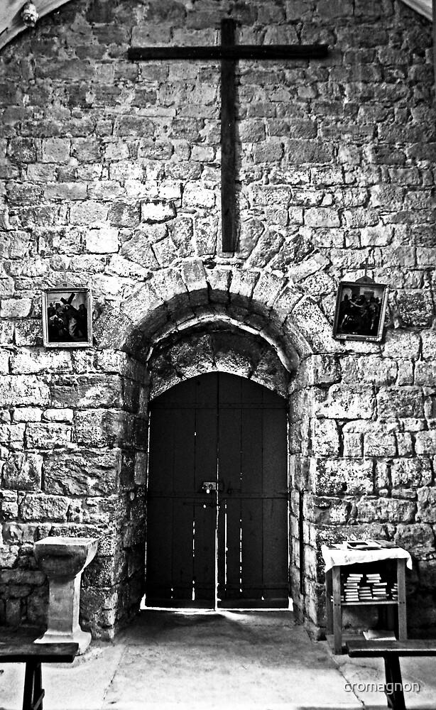 Old church door by cromagnon