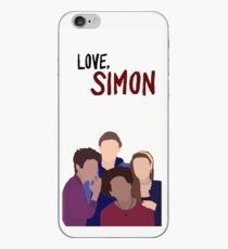 Liebe simon Telefonkasten iPhone-Hülle & Cover