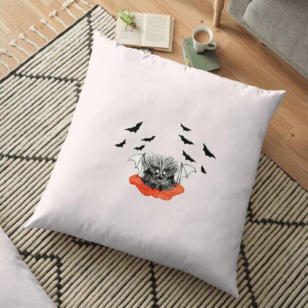 Cute Fluffy Ball Vampire Floor Pillow