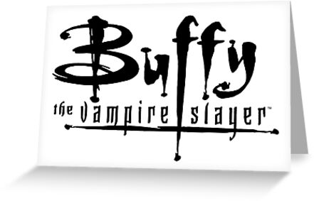 Buffy The Vampire Slayer 90s Greeting Cards By Vapormoon Redbubble