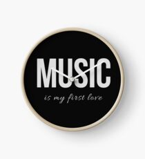 Design Day 14 - Music is My First Love - January 14, 2018 Clock