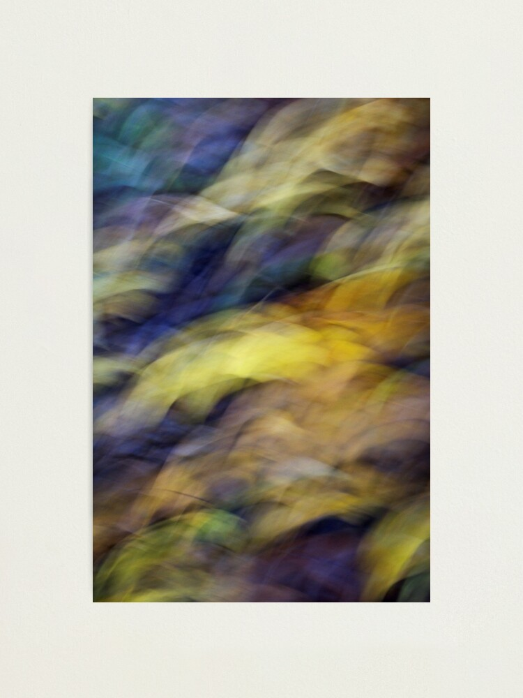 Alternate view of Autumn waves Photographic Print