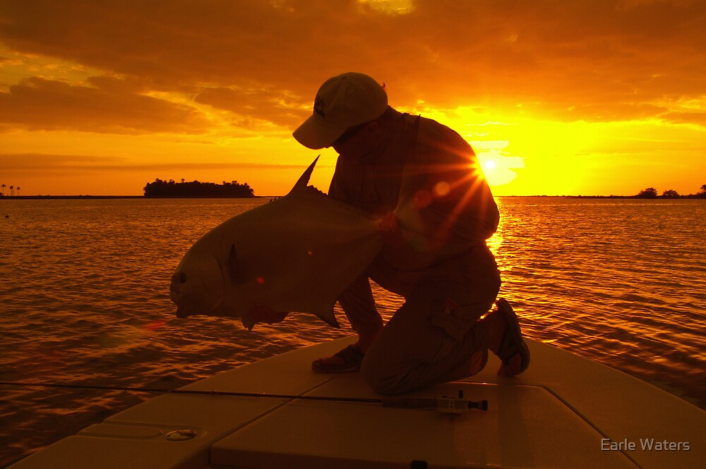 SUNSET PERMIT by Earle Waters