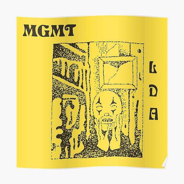 MGMT Little Dark Age Album Merch Poster