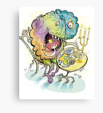 Brain Eater! Information Maniac! Canvas Print
