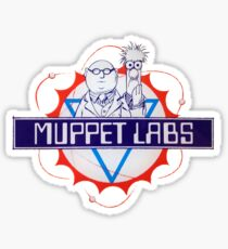 Muppet Labs Sticker