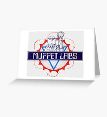 Muppet Labs Greeting Card
