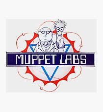 Muppet Labs Photographic Print