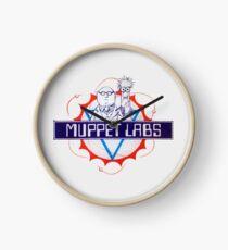 Muppet Labs Clock