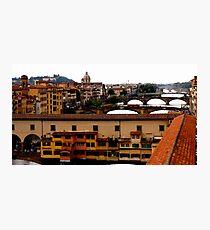 Ponte' Vecchio Photographic Print