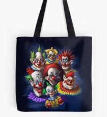 Gruselige Clowns Tote Bag