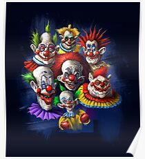 Scary Clowns Poster