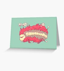Jelly heart Greeting Card