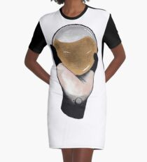 Golden Elixir Graphic T-Shirt Dress