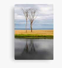 City of Melbourne Bay King Island Canvas Print