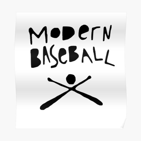 Modern Baseball Poster