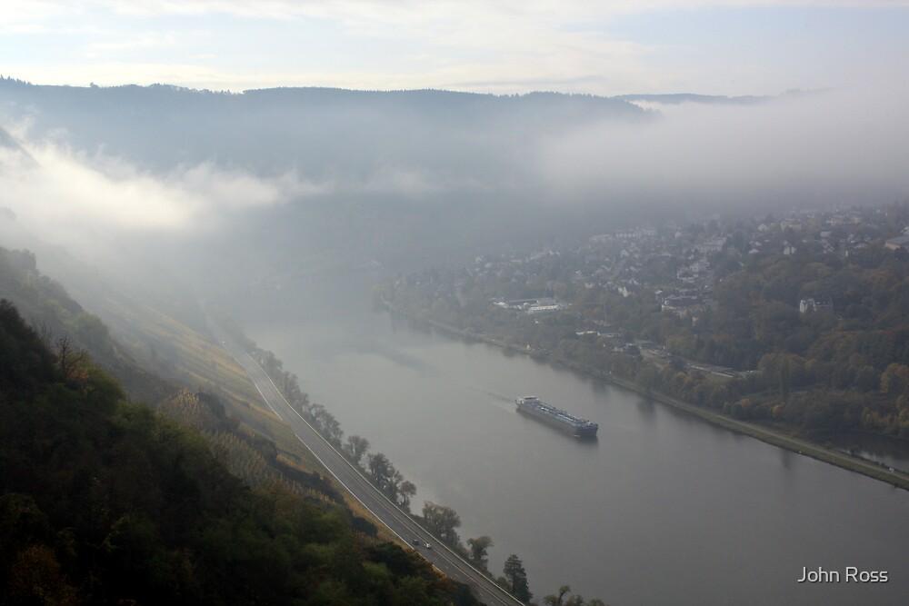 Mosel mists by John Ross