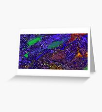Picture 201503 Justin Beck Purple Haze Greeting Card