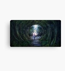 Stay For A Moment Canvas Print