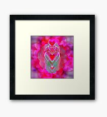 The Hearts Mantra Framed Print