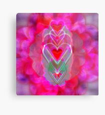 The Hearts Mantra Metal Print