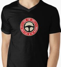 I Love The Smell Of Race Fuel In The Morning Men's V-Neck T-Shirt