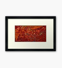 Picture 201504 Justin Beck Sunburn  Framed Print