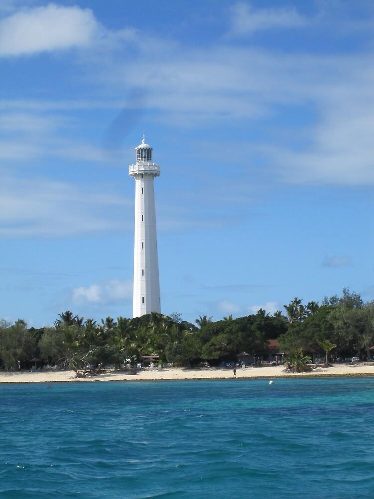 Amédée Lighthouse in Colour by vspicerstuart