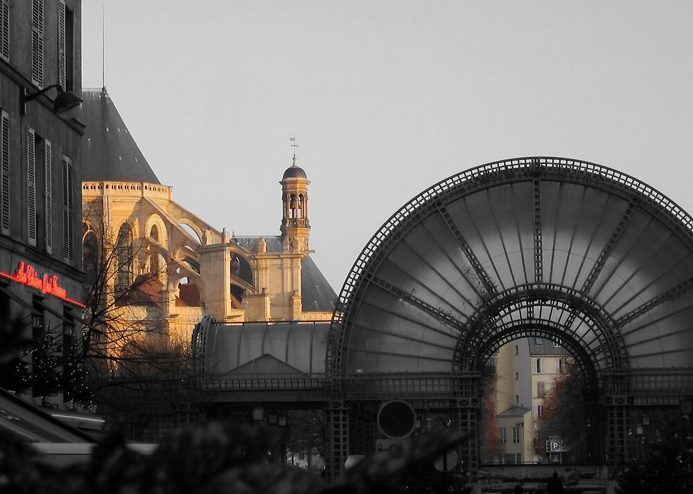 Paris Contrast by MIKEF