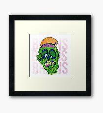 Brains Brains Brains Framed Print