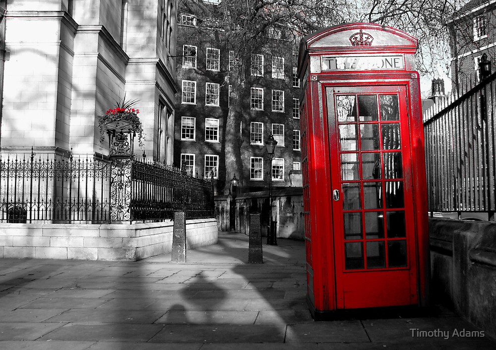 Phone box by Timothy Adams