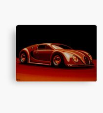 Bugatti Veyron 1945 Painting Canvas Print