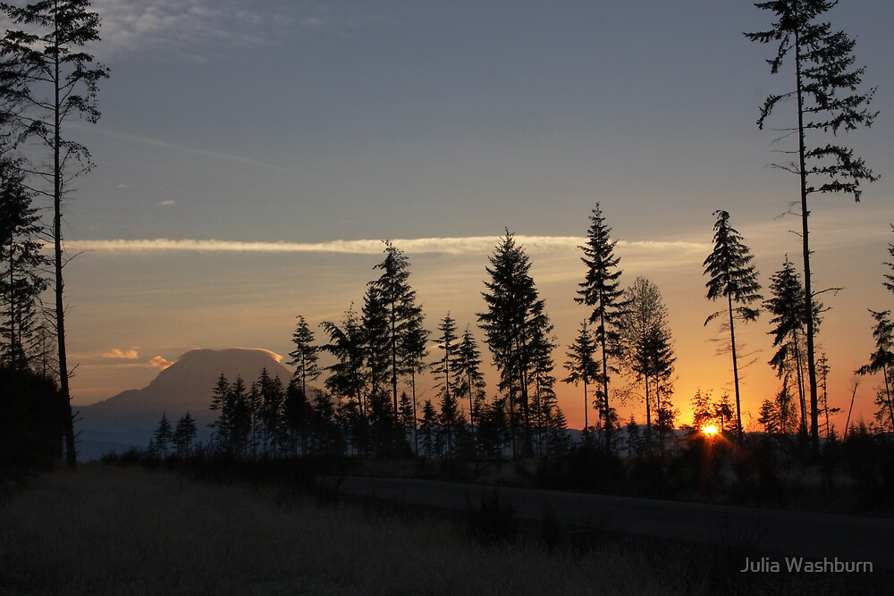 October Sunrise by Julia Washburn