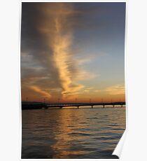 Evening Puget Sound Poster