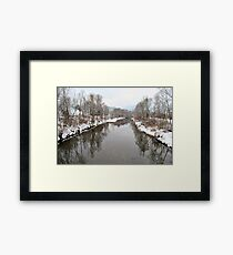 Water Reflection Framed Print