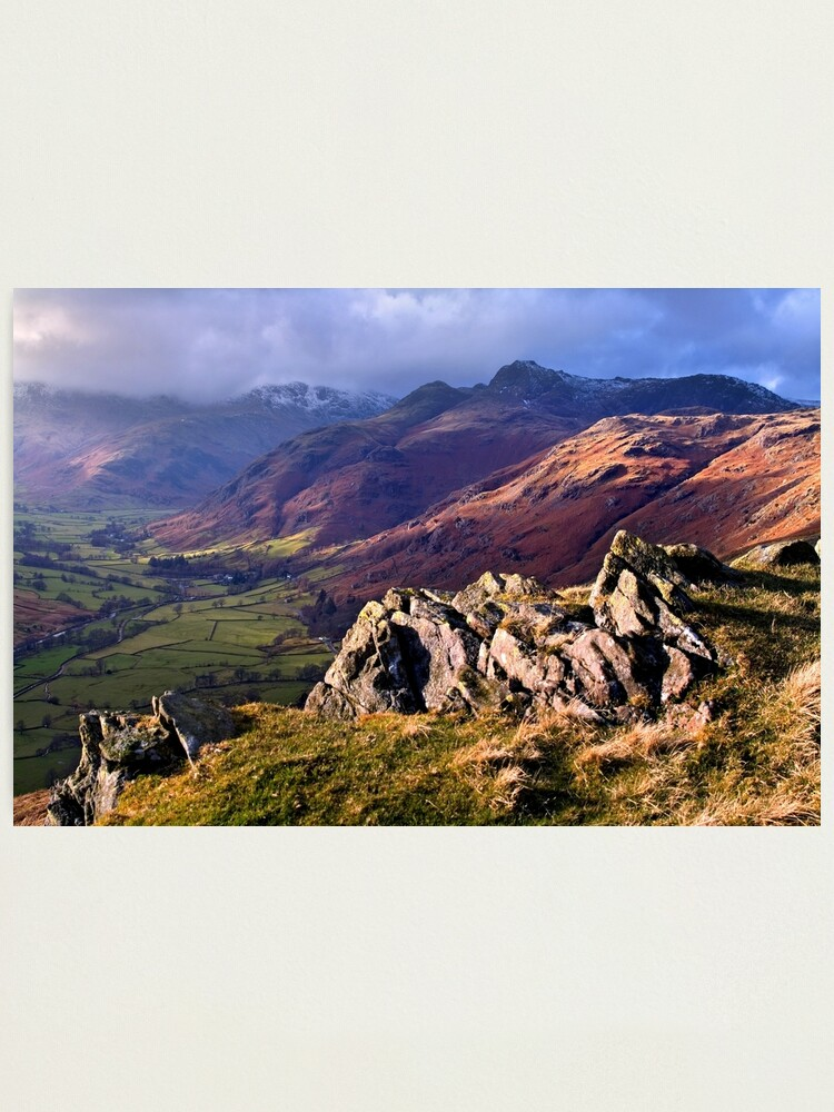 Alternate view of Great Langdale - The Lake District Photographic Print
