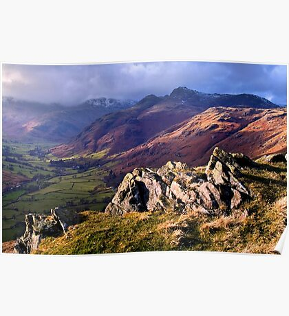 Great Langdale - The Lake District Poster