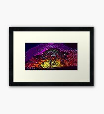 Picture 2015059 Justin Beck Raga Tree Framed Print