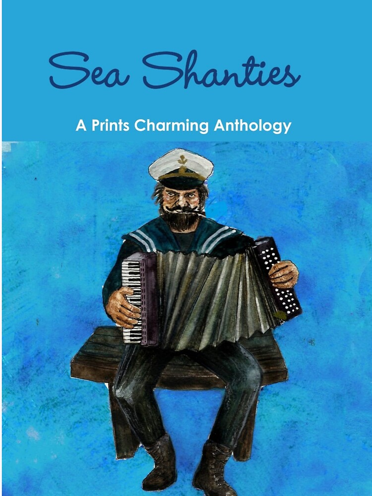 Sea Shanties book cover print by theprints