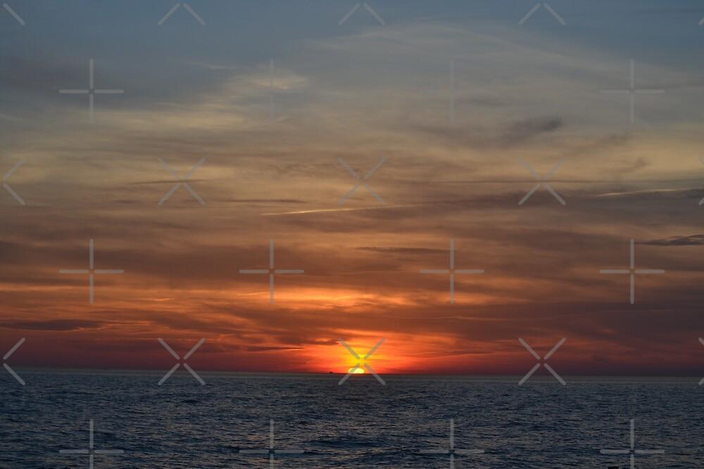 Sunset Beach III by ANNAKUCZYNSKI