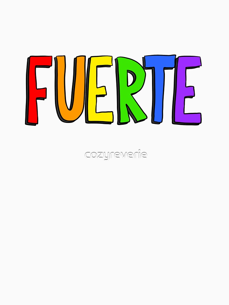 Fuerte - Rainbow by cozyreverie