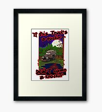 Creeper Truck Framed Print