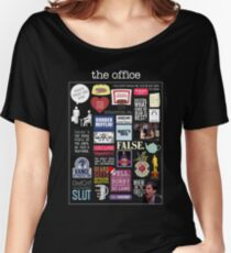 The Office | Elements | Quotes Women's Relaxed Fit T-Shirt