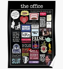 The Office | Elements | Quotes Poster