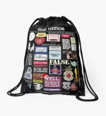 The Office | Elements | Quotes Drawstring Bag