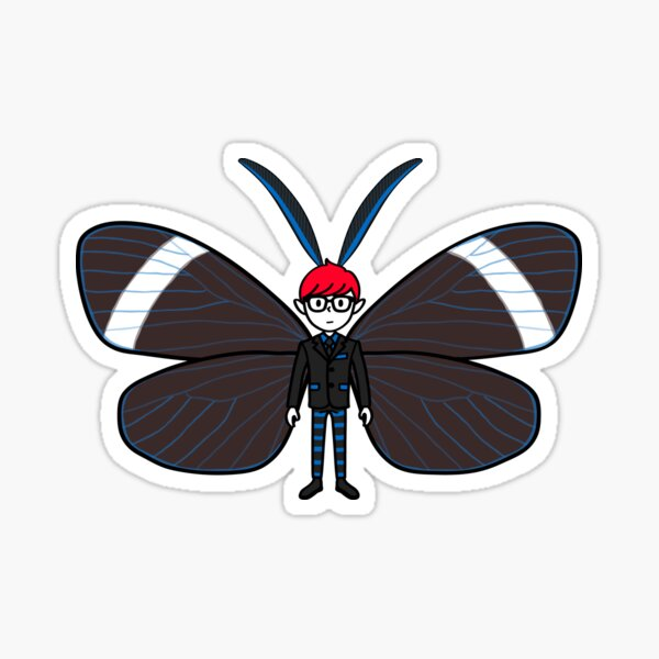 Mothboy04 Sticker