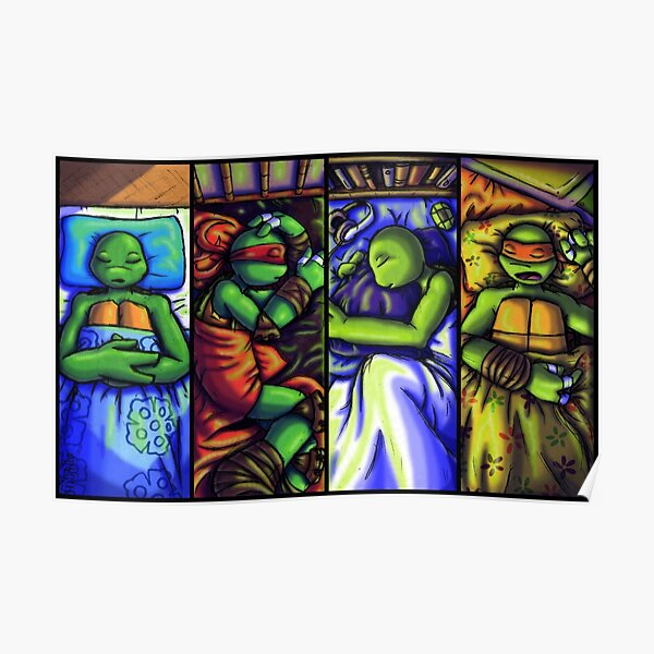 Tmnt 2012 Posters Redbubble