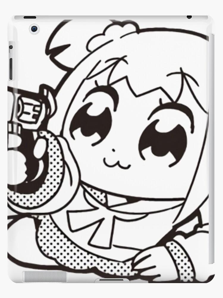 popuko gun pop team epic ipad cases skins by upthecreek90 Skin Gun Texture popuko gun pop team epic