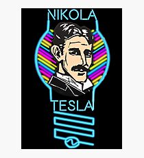 Funky Tesla Lamp Photographic Print